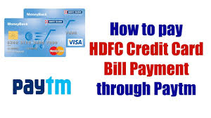sbi billdesk instapay hdfc credit card bill desk