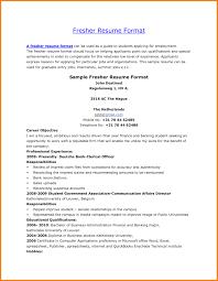 Pleasant Mba Hr Fresher Resume Pdf For Sample Resume For Freshers