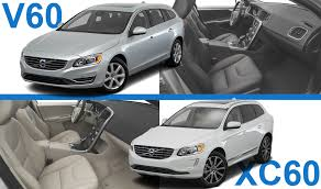 choosing between the volvo xc60 and v60