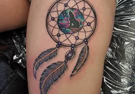 Pics Of Dream Catchers Tattoos 100 Mysterious Dream Catcher Tattoos And The Meaning People Put 42