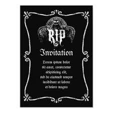 Unveiling Invitations Rip Invitation