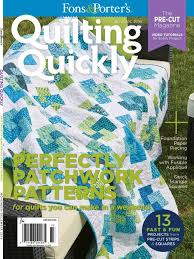 Quilting Quickly November/December 2016 - Fons & Porter - The ... & The Quilting Quickly November/December 2016 issue is filled with quilt  patterns and projects for a warm and wonderful holiday season! Adamdwight.com