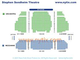 Sondheim Theater Seating Chart Beautiful The Carole King Musical Discount Broadway Tickets