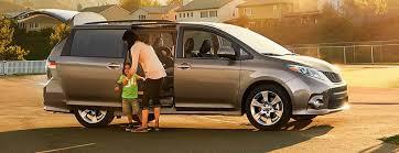 2017 Toyota Sienna Seating Capacity And Cargo Volume
