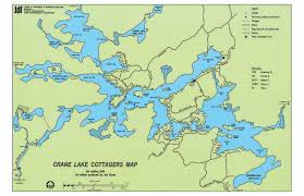 White Lake Ontario Depth Chart Lake Map Crane Lake Association