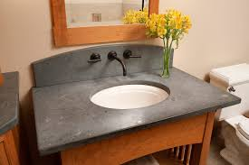 How To Seal Slate Countertops  Home Design And Decor - Granite countertops for bathroom