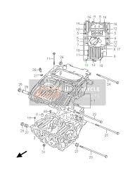 suzuki gs500 e f 2006 spare parts msp crankcase
