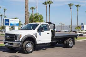 Cab To Axle Body Length Chart Ford 2019 Ford F 450 Xl Reg Cab With Monroe Flatbed Platform