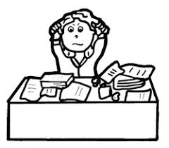 messy desk clipart. Brilliant Messy To Messy Desk Clipart S