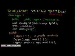 Programming Design Patterns Awesome Programming Interview Singleton Design Pattern Singleton Class C