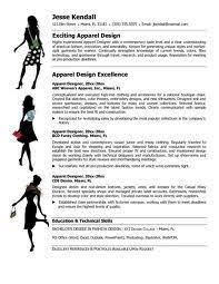 Fashion Merchandising Resume