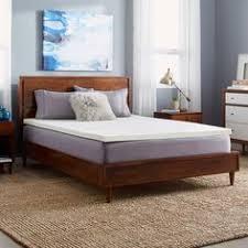novaform serafina collection 3 gel memory foam mattress topper with tricomfort technology. slumber solutions 2-inch memory foam mattress topper novaform serafina collection 3 gel with tricomfort technology