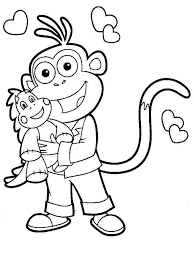 Small Picture Dora the Explorer coloring pages Download and print Dora the