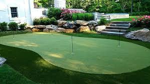 backyard putting green outdoor putting green cost considerations how to make a diy backyard putting green