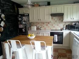 Easy Kitchen Update Painted Tile Backsplash Cover Those Ugly Tiles Make Do And Diy