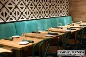 Restaurant Kitchen Tile Commercial Projects Cement Tile Shop Blog
