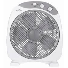 view larger mistral box fan 30cm white grey bunnings warehouse