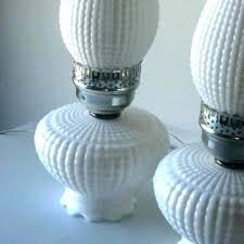 milk glass lamps glass hurricane lamps glass hurricane lamps milk glass lamps value vintage pair white milk glass lamps