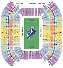Titans Stadium Seating Chart Tennessee Titans Stadium Map Related Keywords Suggestions