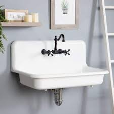 wall mount sinks wall mounted