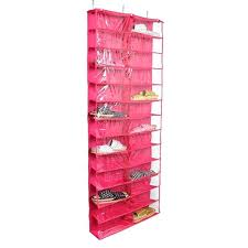 shoe away pocket organizer closet
