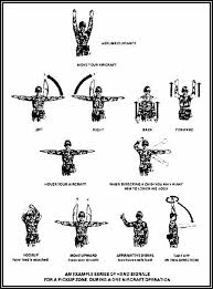 Marine Corps Hand Signals Army Squad Hand And Arm Signals