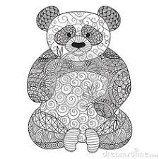 Small Picture panda coloring zoo animals coloring cute free printables