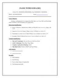 Temple Resume Template Sample Resume Cover Letter Format