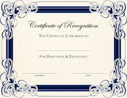 Free Appreciation Certificates Certificates Popular Certificate Of Appreciation Template