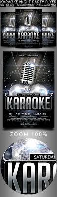 Karaoke Night Flyer Template Karaoke Night Party Flyer Party Flyer Flyer Template And Template 17