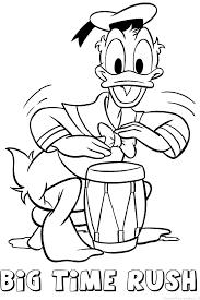 Kleurplaten Kleine Donald Duck