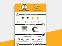 Infographic Resume Template Free Download Resumekraft