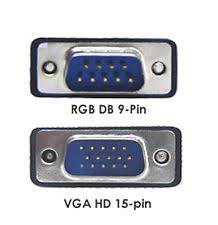 9 pin to 15 pin vga new rgb d sub 9 pin to d sub 15 pin vga video