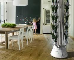 Indoor Kitchen Gardening Garden Landscaping Modern Aluminum Vertical Pots Indoor Kitchen