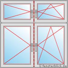 Zweiflügelige Fenster Mit Sprossen Weru Fenster Mit Sprossen