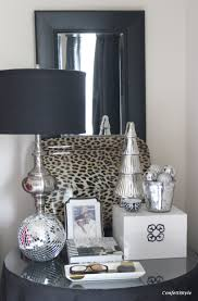 Bedroom Decor Archives Confettistyle I Added Some Silver All Purchased At Hobby  Lobby To My Night Stand During The Day Move Disco Ball Ottoman Foot Of Our  ...