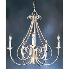 5 light chandelier brushed nickel lighting collection 5 light brushed nickel chandelier portfolio 5 light chandelier