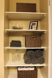 image of bathroom closet shelving ideas unique diy organizing open shelving regarding bathroom closet shelving