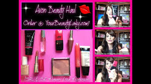 avon haul makeup maven you