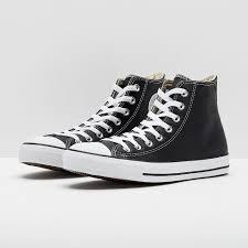 converse chuck taylor all star hi leather black