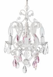 small pink crystal chandelier mini shades lamp for home depot