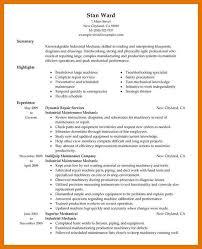 Letter Of Recommendation Mechanic 9 10 Diesel Mechanic Resume Template Juliasrestaurantnj Com