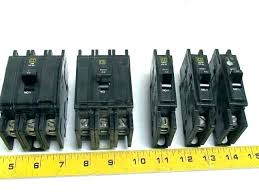 Square D Series Rating Chart Square D Circuit Breakers