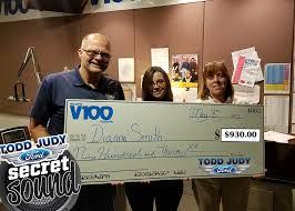 V100 - Congratulations to our Secret Sound Winner, Dianna... | Facebook