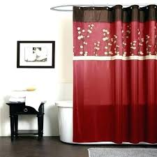 red black white shower curtain red bathroom curtains black and red shower curtain large size of red black white shower curtain
