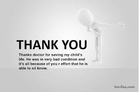 Thank You Letter To Doctor Inspiration Thank You Messages For Doctors Notes Quotes To A Doctor