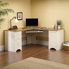 white bedroom desk furniture. Interesting White Corner Computer LShaped Desk To White Bedroom Furniture
