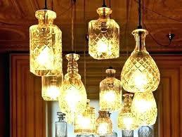 glass bottle chandelier recycled ideas full image for easy ways to cut bottles do soda diy e bottle chandelier plastic also soda diy