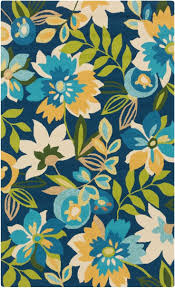 french country area rug fl rugs flower shaped kids ideas shabby chic tropical burst aqua and green blue simply braided best images on white poppy