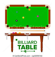 pool table clipart side view. Brilliant View Billiard Table Vector Top Side View Green Classic Pool Snooker Table  Isolated Flat Illustration On Pool Clipart View E